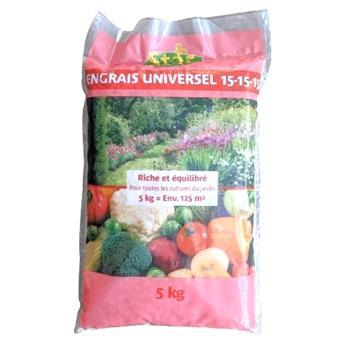 ENGRAIS UNIVERSEL 5KG 15.15.15