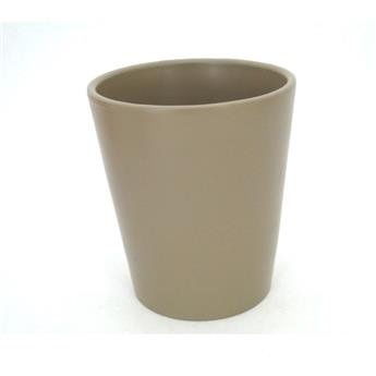 C CERAMIQUE ROND D13 TAUPE X6 TAILLE ORCHIDEE